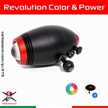 Carbonarm's LED Lamps 🇮🇹 🌈  Color & 💪  Power Revolution LED Light with Adjustable Color Temperature & Power. New Bluetooth Remote Control by the App Revmote from Apple and Play Store. Color Temperature from 2700°K to 6500°K. Led Power from 0 to 150%. 30% ~ 4h30min, 70% ~ 1h30min, 100% ~ 1h10min + 10min 10%, 150% ~ 1h + 10min 10%  Safe for Air Travel (<100 Watt / h) with mechanical and software (Fly Mode) Lock. Compatible with Leo 3 Smart and Diveshot in Flash mode for Smartphone. New Magnetic Charging System. Guaranteed 5 years against flooding. 👇 🔗 www.carbonarm.com/p/275 🌈 🔗 www.carbonarm.com/p/276 🌈 🔗 www.carbonarm.com/p/277 💪 👇 Available through our dealers worldwide: @easydive  @gopro_italia_by_gocamera  @plongimage  @la_camera_embarquee  @kanauimagen  @tiefensteinunterwasserwelten  @divesea.hq  @photodenfert  and more to come... . . #carbonarm #goproherocase #underwaterscooter #dpv #scuba #underwater #underwaterphotography #underwaterlife #underwatershots #wildlifephotography #scubadivinglife #underwater_world_ #scubadiving #uwphoto #underwaterphoto #uwphotography #undewatervideo #actioncamera #actioncam #floatingarm #uwhousing #ultralightarms #brackets #clamps #gopro #underwatervideo #underwatervideography #underwatercarbonfiberfloatarms #underwaterarms #flexarm
