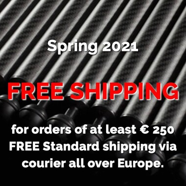 📣 Spring 2021 FREE SHIPPING for orders of at least € 250 FREE Standard shipping via courier all over Europe on Carbonarm.com 🇮🇹 website💥  Check out 👉 www.carbonarm.com now!  #carbonarm #goproherocase #underwaterscooter #dpv #scuba #underwater #underwaterphotography #underwaterlife #underwatershots #wildlifephotography #scubadivinglife #underwater_world_ #scubadiving #uwphoto #underwaterphoto #uwphotography #undewatervideo #actioncam #floatingarm #uwhousing #ultralightarms #brackets #clamps #gopro #underwatervideo #underwatervideography #underwatercarbonfiberfloatarms #underwaterarms #flexarm