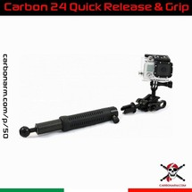 Carbonarm's Quick Release Arms 🇮🇹 Carbon Arm 24 (Quick Realese with Grip) ⚡️ 27.5 cm carbon fiber arm with anodized anticorodal aluminum terminal balls. Anodized with 40 micron military treatment to ensure maximum durability over time and excellent resistance to wear and salt. Version with Ball Quick Lift and Grip. It allows you to easily remove the arm from the case to be able to wield the strobe or the lamp. 👇 . 🔗 www.carbonarm.com/p/50 . 👇 . Available through our dealers worldwide: @easydive  @gopro_italia_by_gocamera  @plongimage  @la_camera_embarquee  @kanauimagen  @tiefensteinunterwasserwelten  @divesea.hq  @photodenfert  and more to come... . . #carbonarm #goproherocase #underwaterscooter #dpv #scuba #underwater #underwaterphotography #underwaterlife #underwatershots #wildlifephotography #scubadivinglife #underwater_world_ #scubadiving #uwphoto #underwaterphoto #uwphotography #undewatervideo #actioncamera #actioncam #floatingarm #uwhousing #ultralightarms #brackets #clamps #gopro #underwatervideo #underwatervideography #underwatercarbonfiberfloatarms #underwaterarms #flexarm